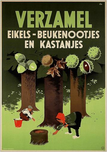 Wilde planten in tijden van honger