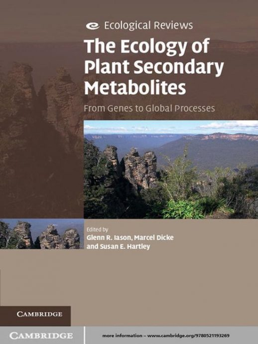 The ecology of plant secondary metabolites - food forest institute - foodforest - voedselbos - permacultuur - agroforestry